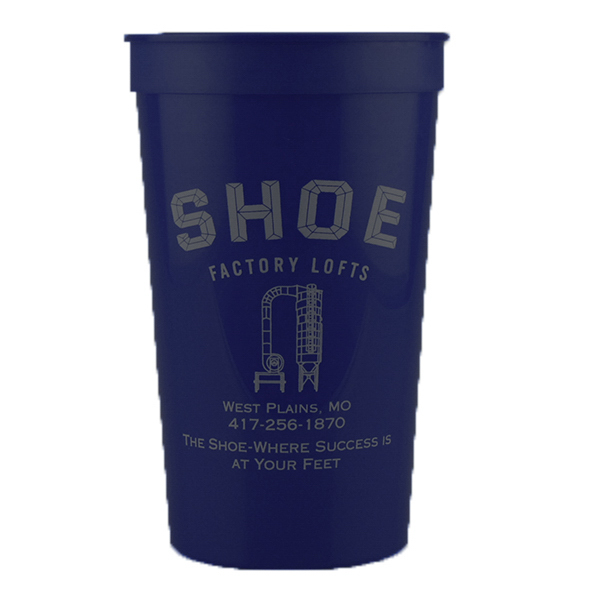 Promotional 22oz Stadium Cup Dark Blue