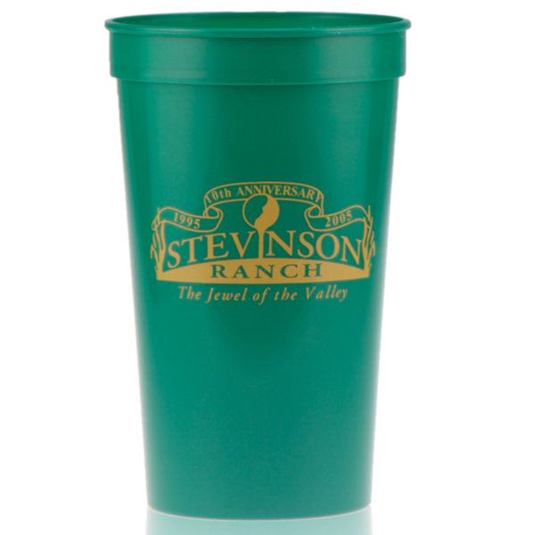 Customized 22oz Stadium Cup Green