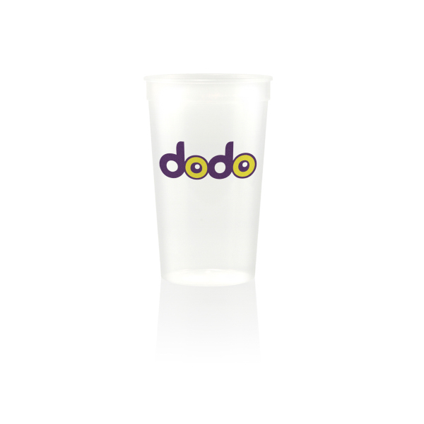 Personalized 22oz Stadium Cup Natural/Clear