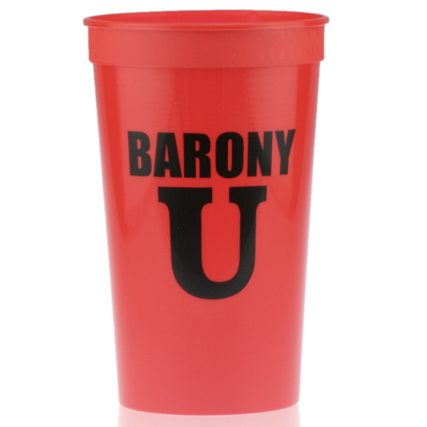 Printed 22oz Stadium Cup Red