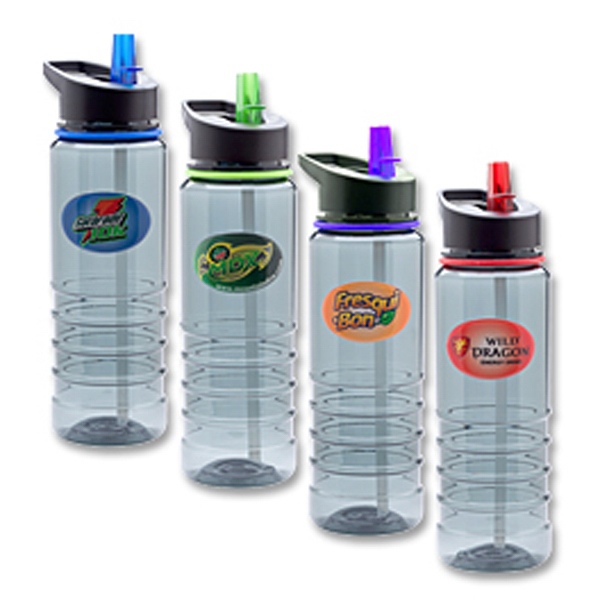 Custom TRI Bottle with Multi-Color Print