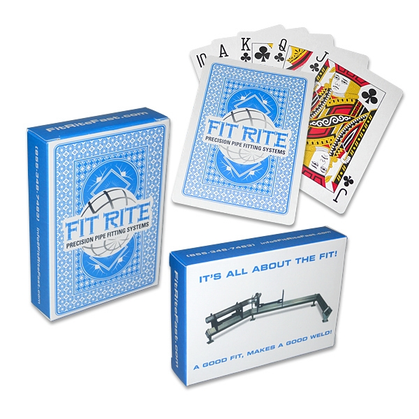 Promotional Custom Poker Size Playing Cards