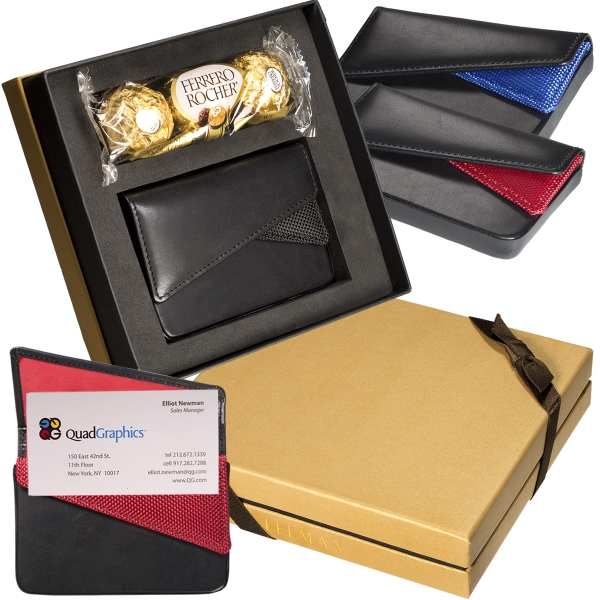 Promotional Ferrero Rocher® Chocolates & Card Case Gift Set