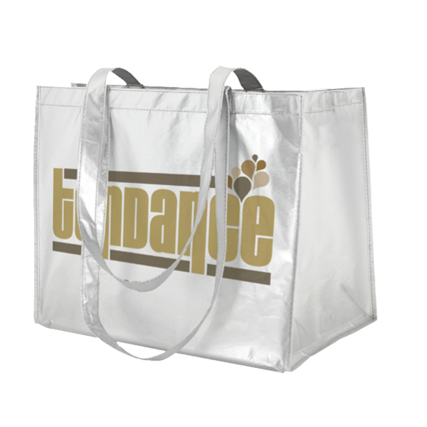 Customized Horizontal Trendy Shopping Bag - X- Large