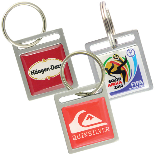 Personalized Custom Aluminum Key Ring