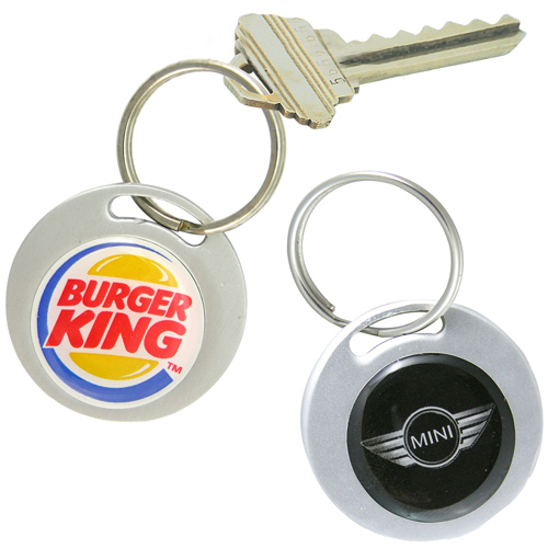 Custom Custom Aluminum Key Ring