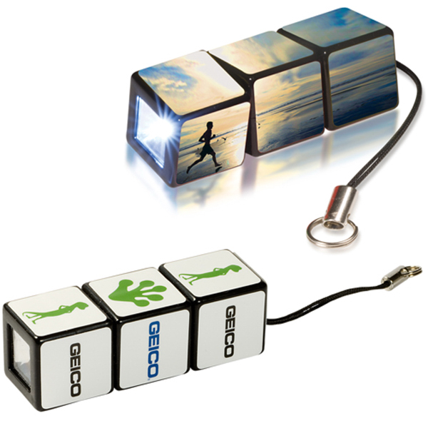 Promotional Custom Rubik's (R) Flashlight
