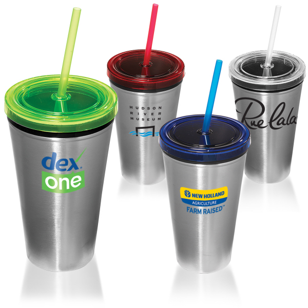 Promotional Steel Sturdy Sipper