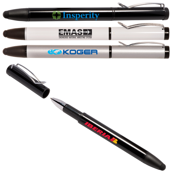 Printed Comet Stylus / Ballpoint Pen for Touchscreen Mobile Devices