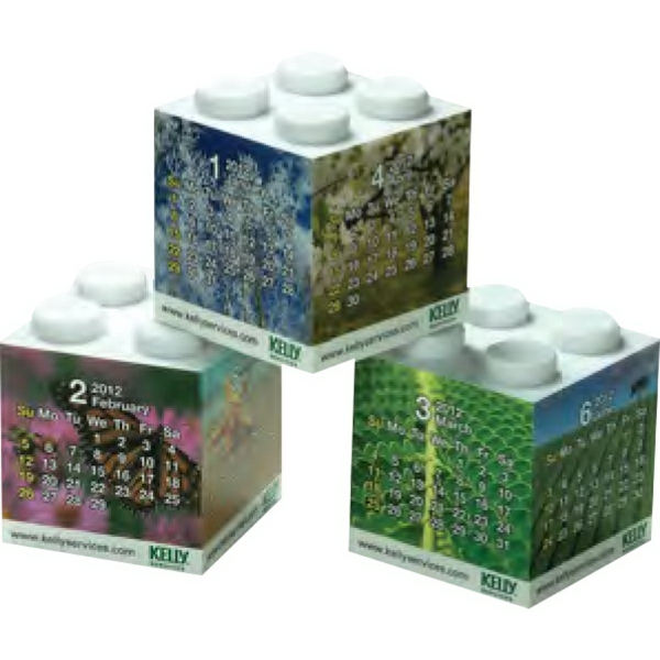 Promotional Magic Building block calendar 3 pieces