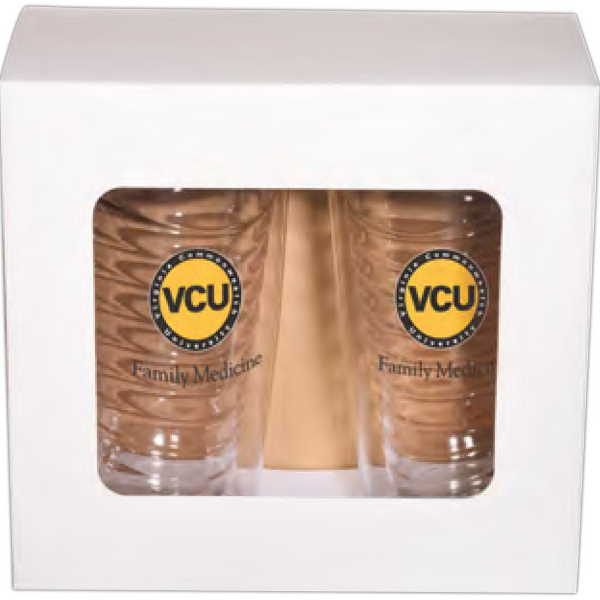 Imprinted Avalon Clear Tumbler Set