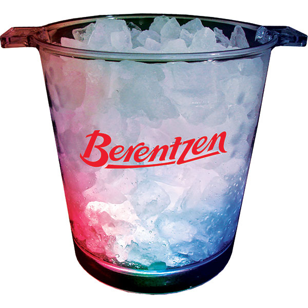 Imprinted 200oz 3-light ice bucket