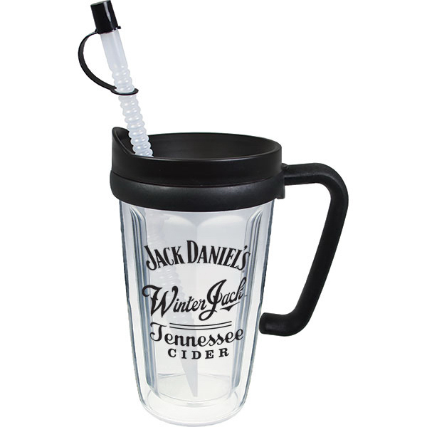 Personalized 16oz Thermal Travel Mug with Lid & Handle