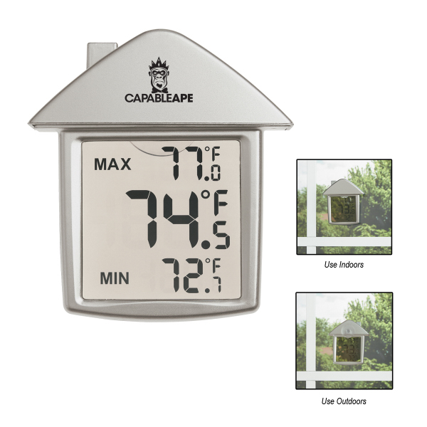 Customized House Shape Thermometer