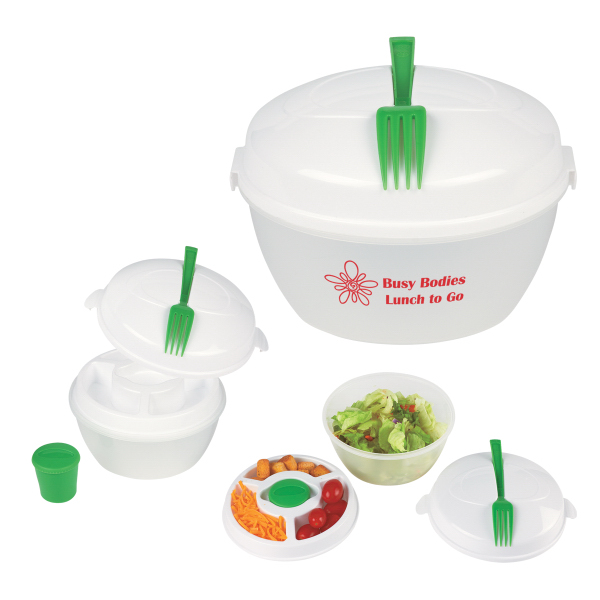 Personalized Salad Bowl Set