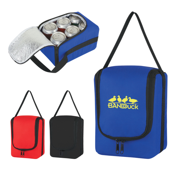 Promotional Verve Six Pack Kooler Bag