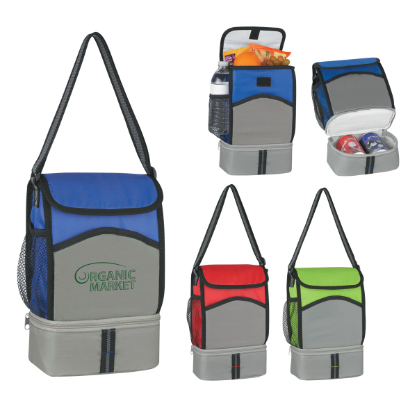 Printed Super-Pack Lunch Kooler