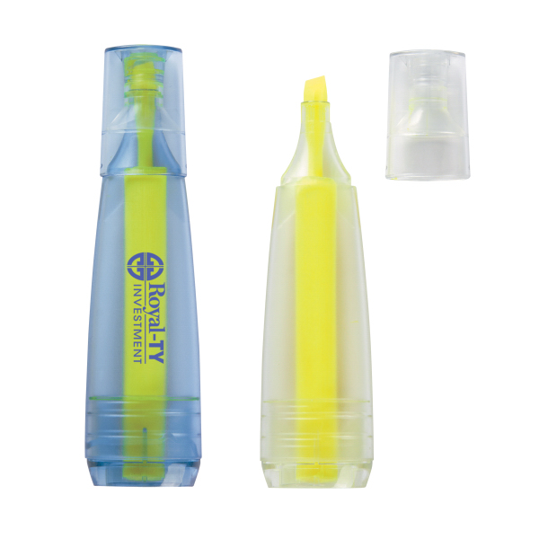 Printed Oasis Recycled Bottle Stubby Highlighter