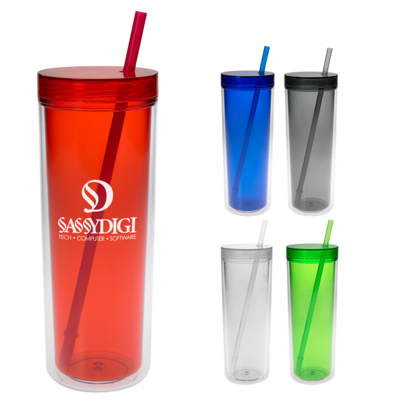 Printed 16 oz. Double Wall Aria Tumbler