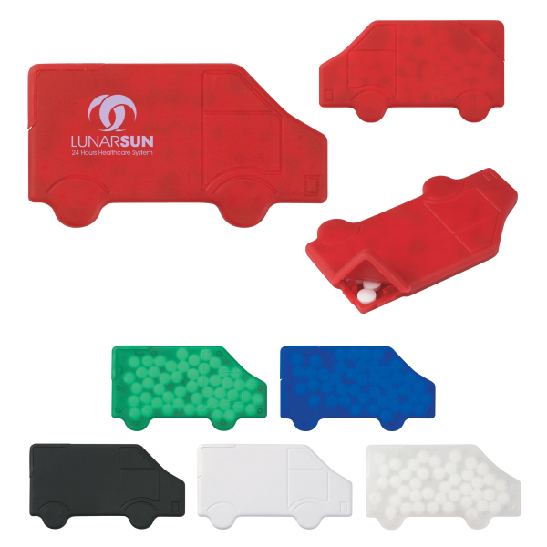 Promotional Truck Shape Peppermints