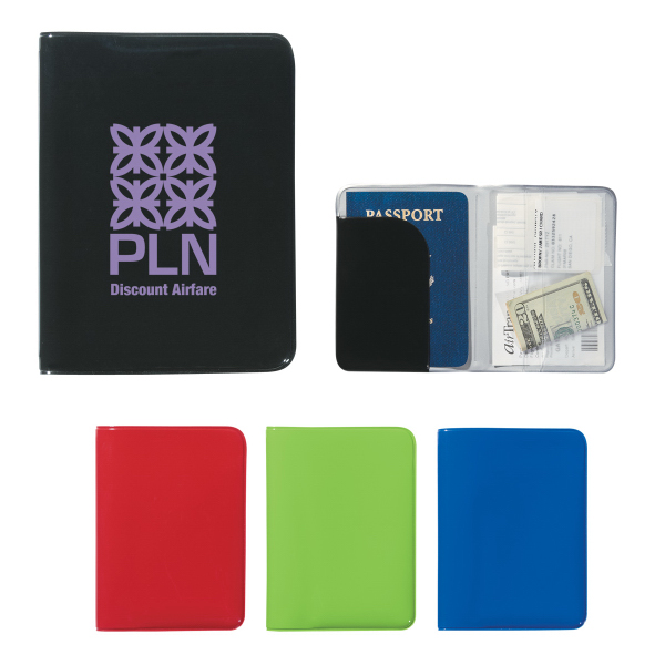 Personalized Voyager Passport Holder