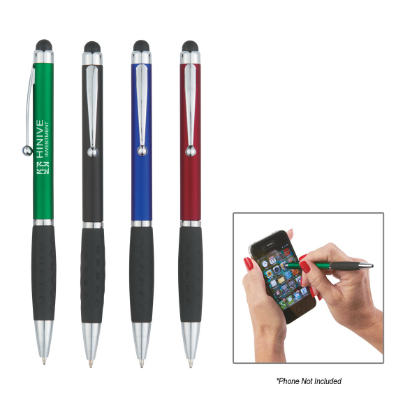 Personalized Provence Ballpoint Pen With Stylus