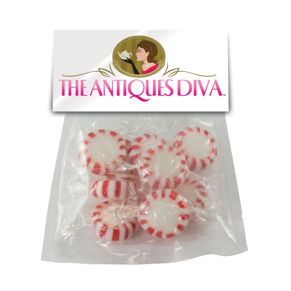 Imprinted Large Candy Bag (with Header Card) with Starlite Mints