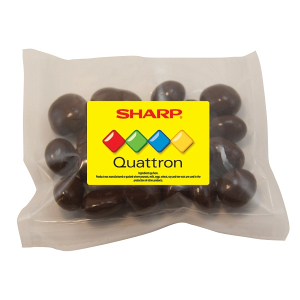 Custom Large Promo Candy Pack with Chocolate Covered Raisins
