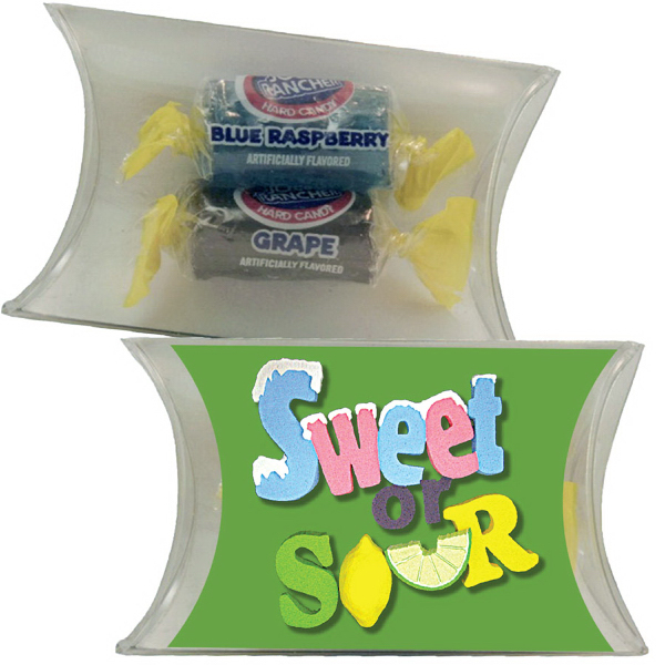 Customized Small Pillow Pack with Jolly Ranchers