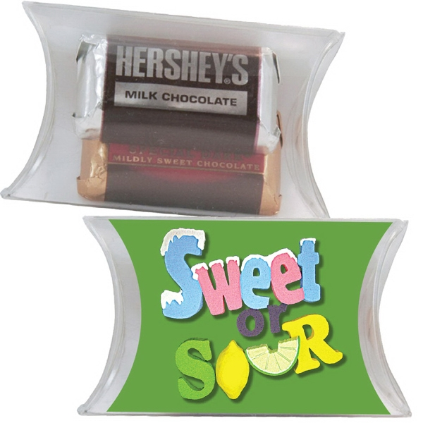 Printed Small Pillow Pack with Hershey Miniature Chocolates
