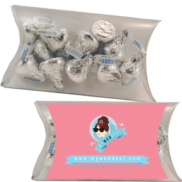 Promotional Medium Pillow Pack with Hershey Kisses
