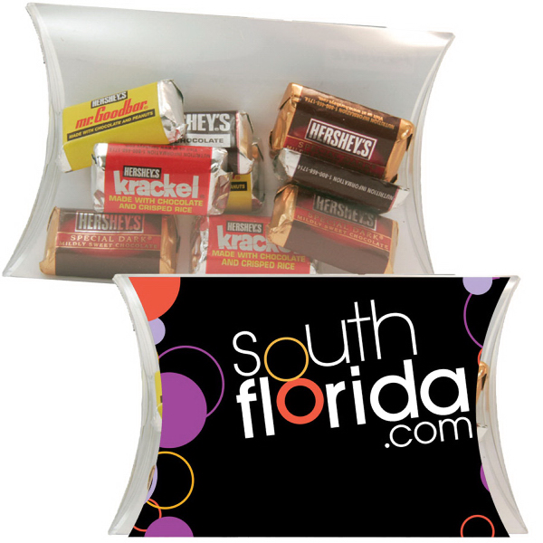 Printed Large Pillow Pack with Hershey Miniature
