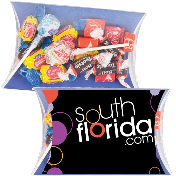 Printed Lg. Pillow Pack w/Dum Dums, Tootsie Rolls, Starburst & More