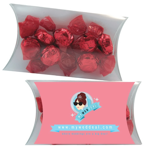 Promotional Medium Pillow Pack with Foil Candy