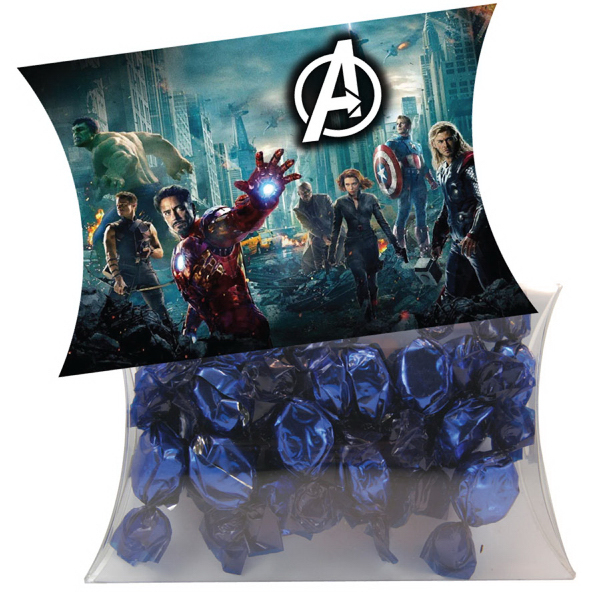 Customized Large Pillow Pack with Foil Candy