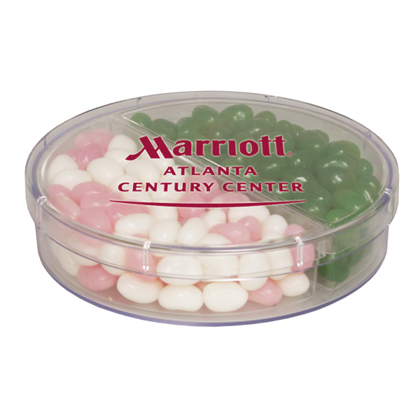 Customized Full Moon with Corporate Color Jelly Beans - Candy - Acrylic