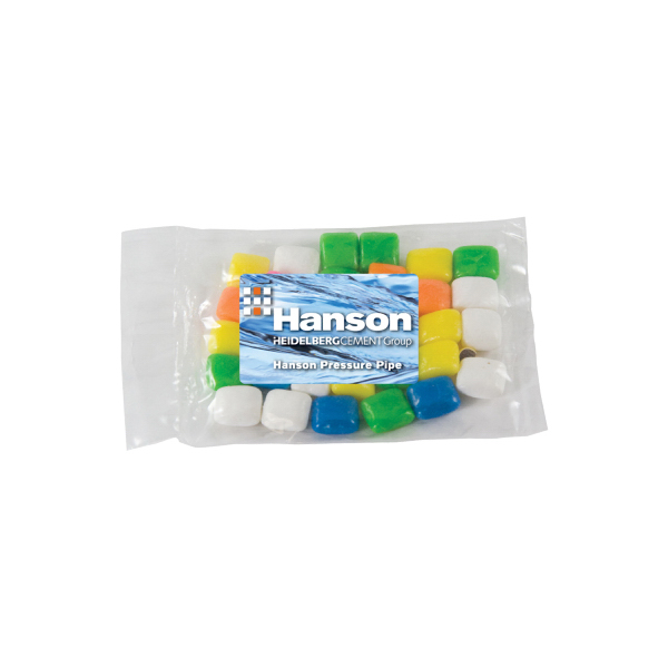 Personalized Small Promo Candy Bag with Gum