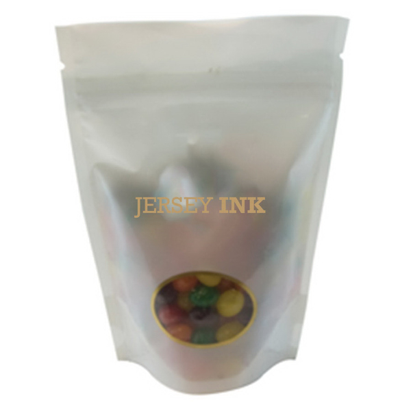 Customized Large Window Bag with Jelly Beans - Candy - White