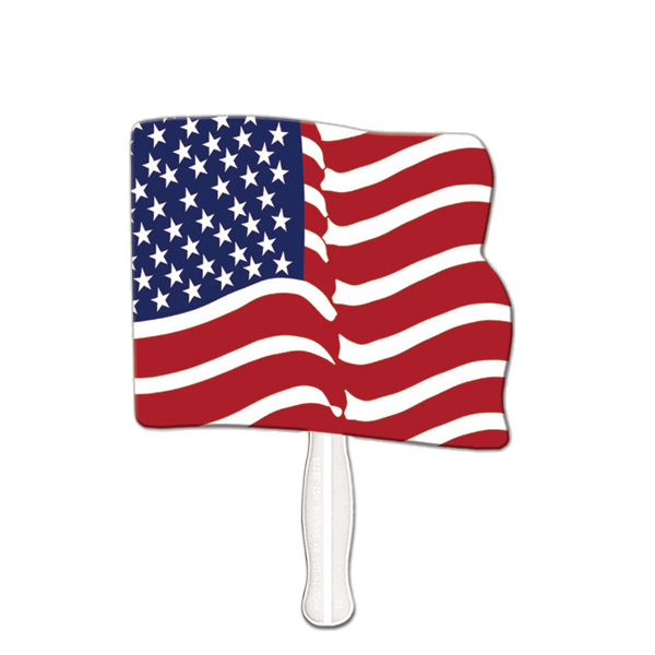 Custom Flag sandwich fan