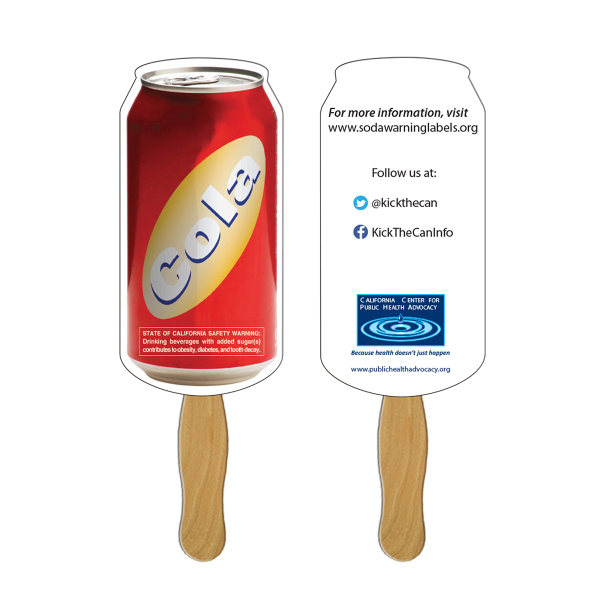 Promotional Can sandwich fan