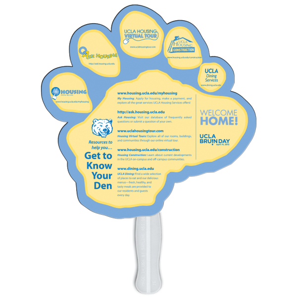 Promotional Paw fast fan