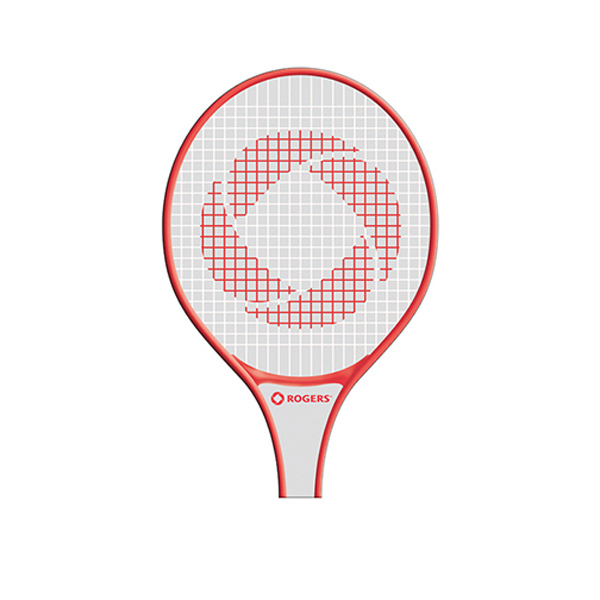 Promotional Racquet fan without stick