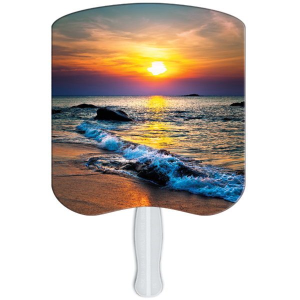 Promotional Sunset stock fan