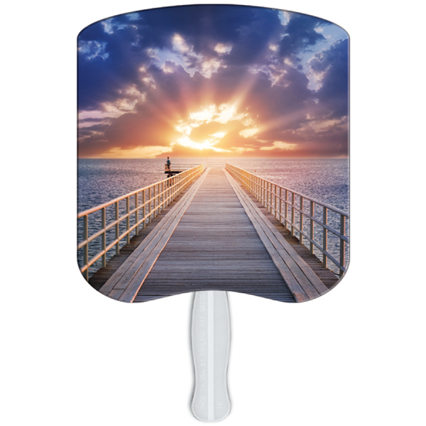 Personalized Sunrise stock fan