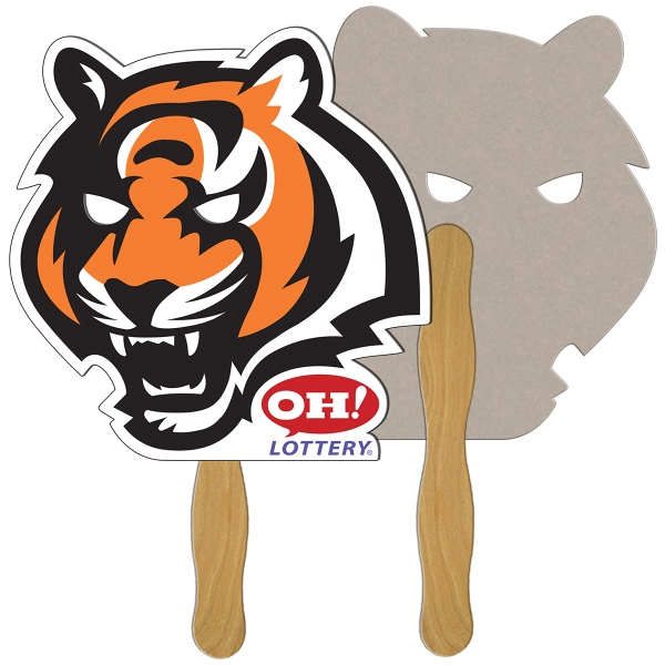 Customized Tiger recycled fan