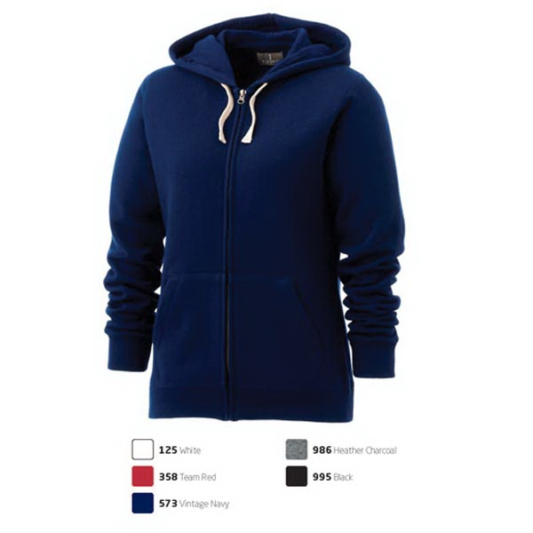 Personalized Huron Fleece Full Zip Hoody