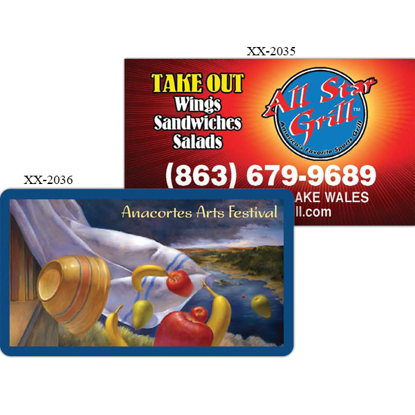 Printed Business Card Magnet
