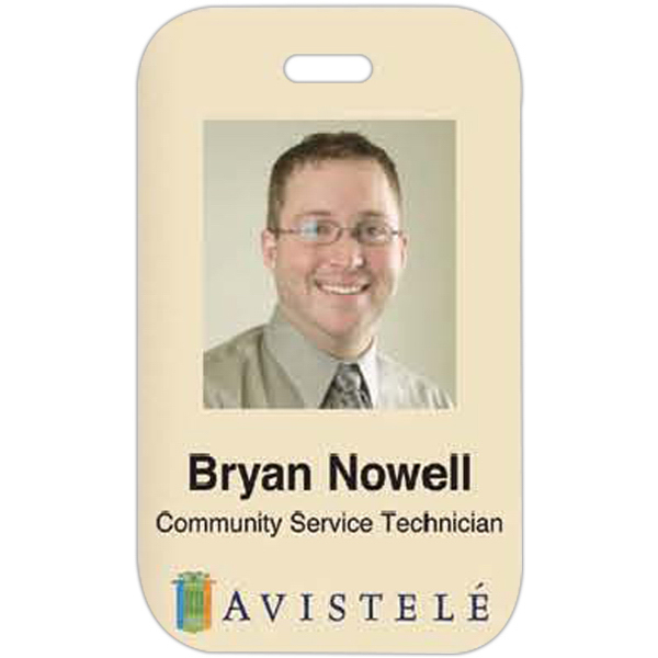 Promotional Photo ID Laminated Badge
