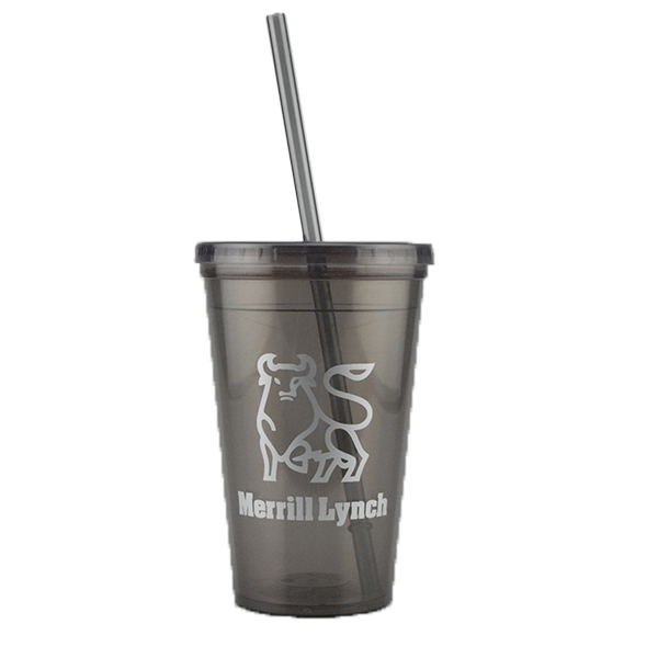 Customized 16 oz. Double Wall Bolero Tumbler