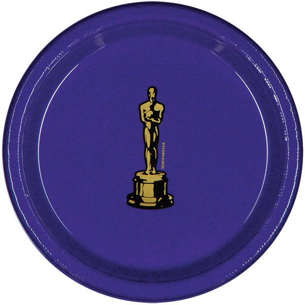 "Promotional 7"" Color Plastic Plate"